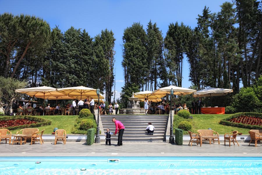 Matrimonio In Villa Roma : Il ricevimento